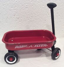 Radio Flyer Curious George Wagon Red Mini 3-3/4 x 6-1/4 Toy Dolls Retro Decor