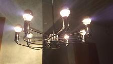 Sarfatti style chrome italien chandelier - Chrom Deckenlampe italienisch