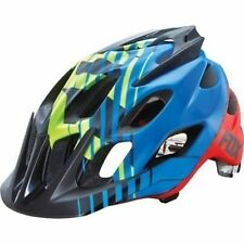 Fox Flux Savant Mountain Bike Cycling Helmet Blue Size S/M New