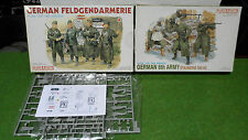 lot 2 MAQUETTE GERMAN 6TH ARMY & FELDGENDARMERIE militaire 1/35 DRAGON plastique