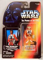 Star Wars POTF Luke Skywalker Figure in X-Wing Fighter Pilot Gear Figure Kenner