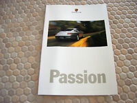 PORSCHE OFFICIAL 996 911 CARRERA 4 BOXSTER SALES BROCHURE POSTER 1999-00 USA