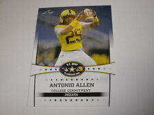 2013 Leaf US Army All American Bowl 5 Antonio Allen INDIANA