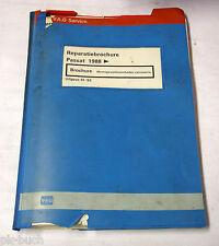 Reparatiebrochure VW Passat B3 / 35i Montagewerkzaaamheden carrosserie van 1988