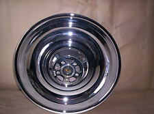 Harley Davidson Chrome Deuce Duece Rear Wheel Rim 17 Shaved Smooth EXCHANGE
