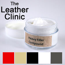 Leather Repair Filler Compound 10ml for cracks, burns, holes etc..