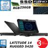 Dell Latitude 14 Rugged 5420 i5-8350U 3.6GHZ FHD 1080P 256GB HD 8GB BLIT 3YR WTY