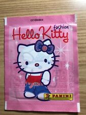 1 BUSTINA DI FIGURINE HELLO KITTY FASHION Panini 2010