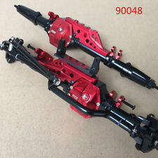KYX Axial Wraith RR10 90048 front + rear CNC alloy axle 2pcs red color