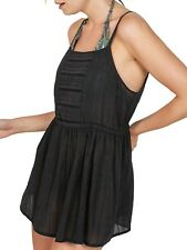 Fat Face Trevone Cami Black Size UK 10 Lf181 II 08