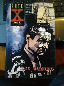 Akte X Comic Band 2 Die WarnungFeest Comics Erstausgabe 1997