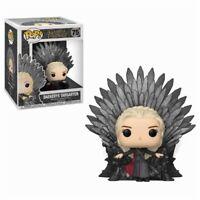 Daenerys Targaryen Iron Throne Game of Thrones POP! Deluxe #75 Vinyl Figur Funko
