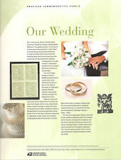 #759 63c Our Wedding Dove Stamp #3999 USPS Commemorative Stamp Panel