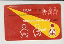 Amsterdam Arena Card 2001 Applaud your stars at the Amsterdam ArenA AA1860024434