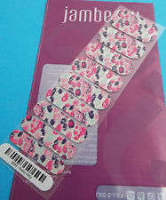 Jamberry Pretty Kitty Nail Wrap ( Half Sheet ) 26B5 New