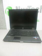 "HP EliteBook 8740w 17"" i5 2.4GHz 8GB/160GB Webcam Linux Laptop ""No Battery"" + AC"