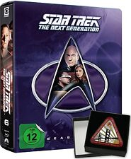 STAR TREK: THE NEXT GENERATION, Season 6 (6 Blu-ray Discs, Steelbook + Pin) NEU+