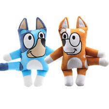 2PCS Pack Toys Figures TV Bluey and Bingo Puppy Cartoon 11inch Regalo Juguete