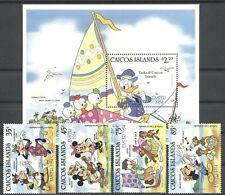 Walt Disney, Ostern - Caicos-Inseln - 42-45, Bl.5 ** MNH 1984