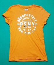 Aeropostale Shirt Size 10 Girls Orange NEW FREE SHIPPING