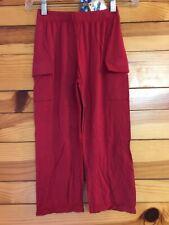 NWT Kickee Pants Crimson Red Cargo Pants Boys Size 5