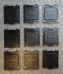 9 x Motherboard Socket LGA115x (1150 1151 1155 1156) Processor Cover Protector