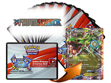 x10 Protoschock Pokemon TCGO OnLine Code Karten + 1 Bonus Rayquaza EX XY73 Code