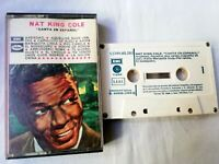 Nat King Cole Canta IN Spanish Emi Cinta Cassette 1969 Collector Used