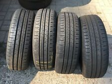 4x Continental 185 65 R15 88H ContiEcoContact 5 DOT2717 Sommer Pneu Tire *TOP