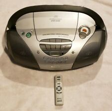 SONY BOOMBOX CD-R/ RW PLAYBACK CASSETTE PLAYER WITH REMOTE CFD-S300 VERY NICE
