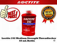 Loctite 242 Medium Strength Threadlocker, 50 mL Bottle, Blue Pack of 1