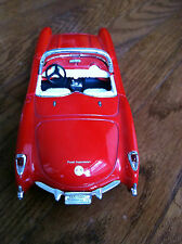 SS 5709 1957 model Chevrolet Corvette chevy vette red white sport race car