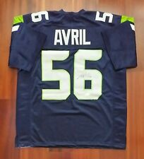 Cliff Avril Autographed Signed Jersey Seattle Seahawks JSA