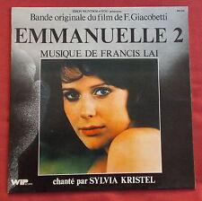 EMMANUELLE 2  LP ORIG FR BOF OST FRANCIS LAI   SYLVIA KRISTEL