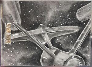 Star Trek Sketchafex Sketch card Enterprise Danny Hayman TOS