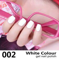 MRO 002 Gel Nail Polish UV LED Varnish Soak Off Classic White Colour High-end