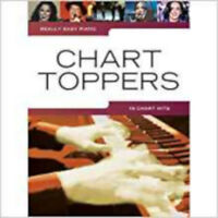 Really Easy Piano: Chart Toppers - Sheet Music, New,  Book