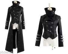 3 Piece Scorpion Long Gothic Coat Mens Punk Rave Visual Kei jacket Y-364
