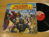 LP Karl May Der Schatz im Silbersee I Hörspiel Vinyl Zebra 91 301