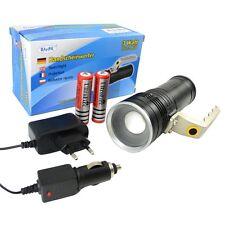 Taschenlampe Handscheinwerfer Cree LED Akku-Handlampe Standlampe BAY34906