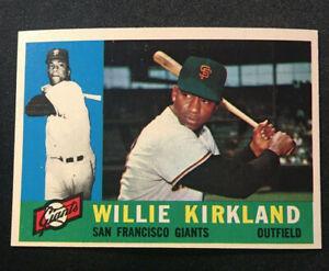 1960 Topps #172 Willie Kirkland, Near Mint, (NM)