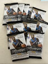 (10) 2010-11 Panini Prestige Basketball Pack Lot John Wall RC Kobe Shaq AUTO?