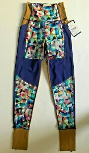 New WITHOUT WALLS Womens Yoga Active Leggings Run Gym Tights S Free Ship