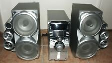 JVC CA-HXD77 w/SP77 Twin Giga Tube Speakers 5-CD DVD Changer Dual Amps