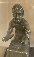 Meat Butcher Slager Vintage Daalderop Royal Holland Pewter Craftsman Figurine
