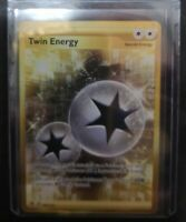 209/192	Twin Energy | Rebel Clash SWSH TCG | GOLD SECRET RARE Art Card | New |