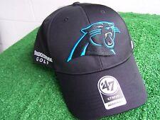 Bridgestone Golf Carolina Panthers Black Golf Hat Cap NFL Team Adjustable NEW