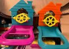 LOT Bird Toy House shape mirror Spinner Perch colors vary NO Packing imperfect