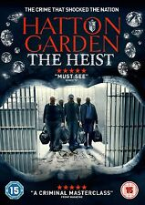 Hatton Garden - The Heist (DVD) (NEW AND SEALED) (REGION 2) (FREE POST)