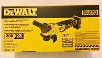 "New Dewalt DCG413B 20V Max XR 4-1/2"" Brushless Paddle Switch Angle Grinder NIB"
